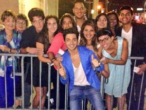 "Gianluca, ""With some beautiful fans after the concert in Tampa!"""