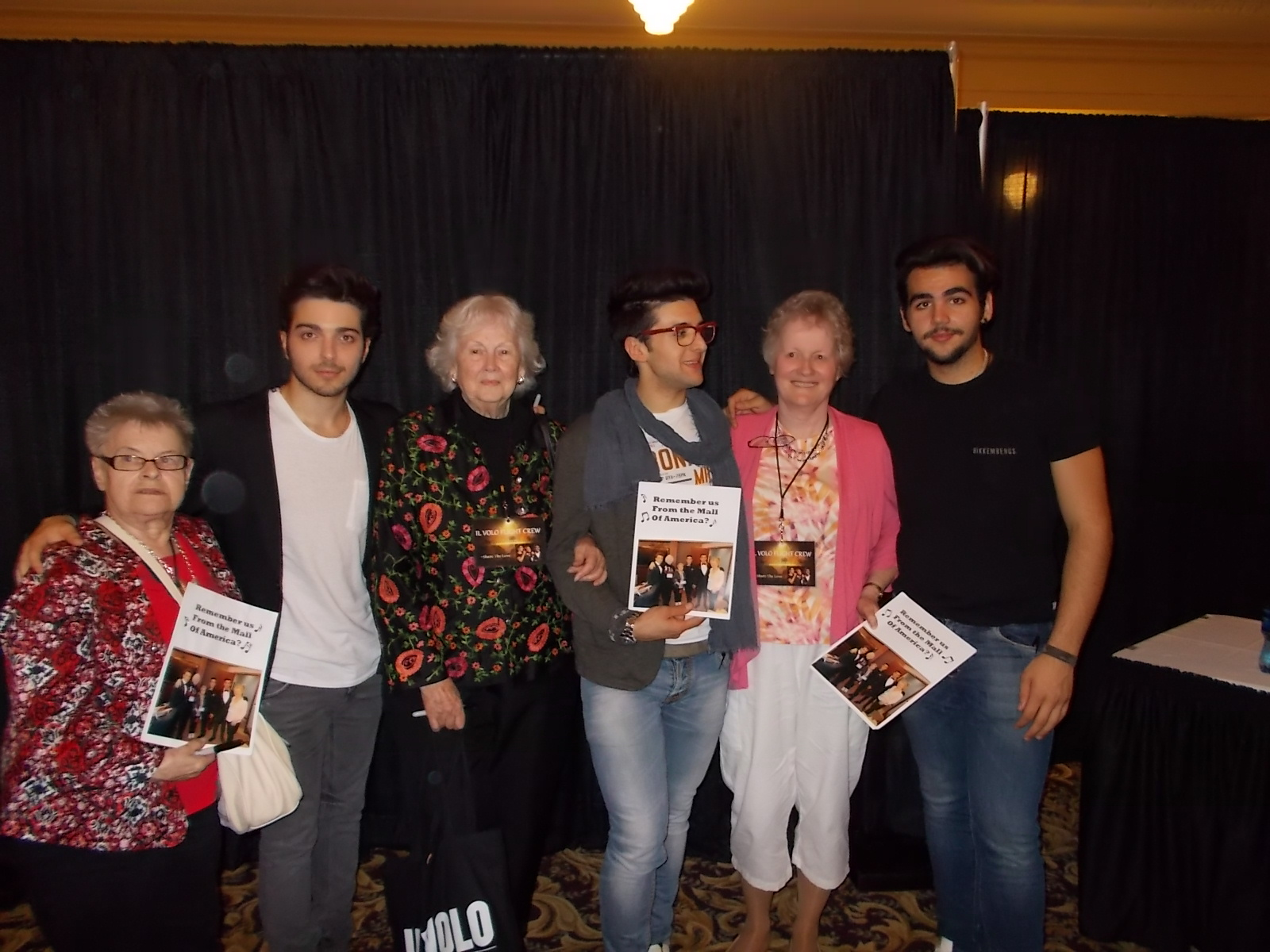 June 2014 il volo flight crew share the love allene mary b and jane i forget the guys names m4hsunfo