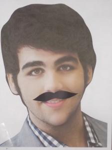 Pin The Mustache On Ignazio
