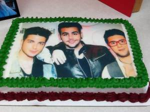 The Cake (this picture submitted by Laura)