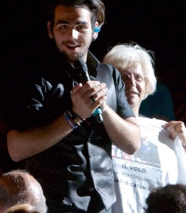 Looking at that handsome Ignazio!