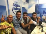 Kiss Kiss with host, Gianluca Manizieri; Bing Images