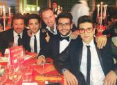 Gianluca Ginaoble Facebook Il Volo at telethon dinner - Rome 2014