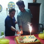Giuseppina Licari Nina and Ignazio celebrate their birthdays