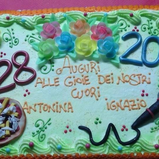 Giuseppina Licari The Birthday Cake - Antonina and Ignazio Boschetto