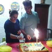 Giuseppina Licari Ignazio and Nina celebrate their birthdays together