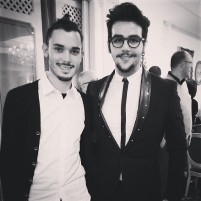 @danipnl Ignazio and friend, Christmas 2014