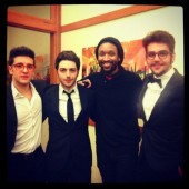 @shakerthebasser Il Volo and friend San Franciso