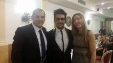 Massimo Daguanno Ignazio and friends. Christmas 2014