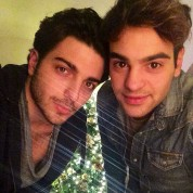 @maxdivittorio Gianluca and Max Christmas 2014