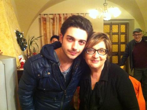 Rosanna Castorani Facebook Gianluca and Rosanna Christmas 2014