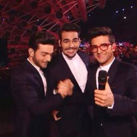 @TheIlvoloversMx Before the performance - Eurovision - 2015