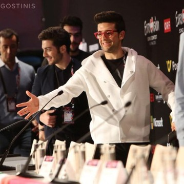 posted from original owner by @VVlicht23 - leading to to the final days - press conference - Eurovision 2015