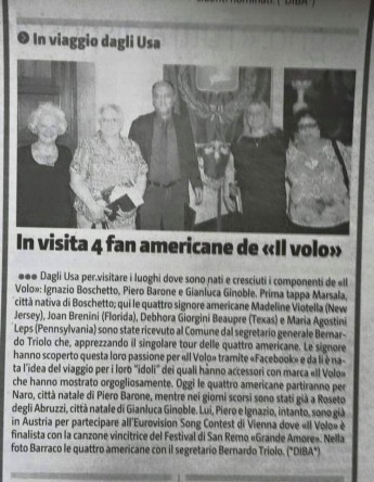 a trip Marsala News Article