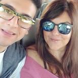 Piero Instagram (@barone_piero) The beginning of the 2015 Live Tour Assisi fundraiser - June 2015 - Piero and Barbara