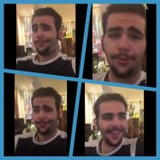 @ignazioboschetto Instagram; @ilvolomusic - selfies