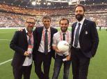 Radio2 Staff - benefit soccer game - Turin, Italy 2015