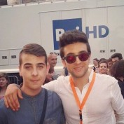 @simo.official - Piero and fan at Wind Music Awards - Verona - 2015