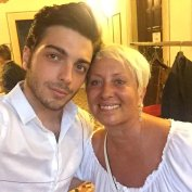 @CarolynSmith512 Gianluca and Carol from dancing with the stars - Marostica - 2015