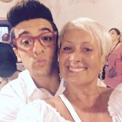 @CarolynSmith513 Piero and Carol from dancing with the stars - Marostica - 2015