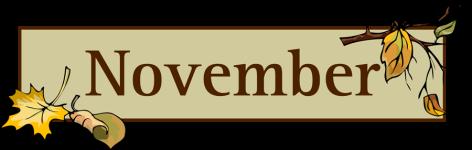 November-ClipArt