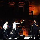 @supersonic888 Il Volo with roses - Cernobbio Concert - July 23, 2015