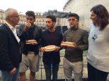 Comune di Macerata Il volo presented with miniatures of the Sferisterio di Macereta Theater- August, 2015