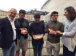 Comune di Macerata2 pressentation of miniatures of Sferisterio di Macereta Theater - August, 2015
