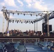 Mama Ginoble sound check - Torre del Lago - August 12, 1025