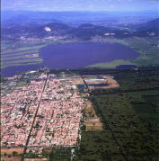 Bing Images arial view Torre del Lago - Chiete, italy - 2015