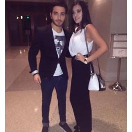 @dianacataleyas Gianluca and Diana - NYC - 10/15