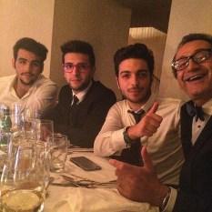 @massimogallotta Il Volo at dinner - Photo with Massimo Gallotta Oct. 2015
