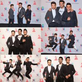 Getty Images2 Univision - Il Volo photos Latin Grammys 2015