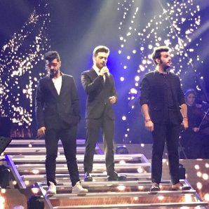 @bennypetti Il Volo on stage - Laverno Concert 1/12/16 LivePaslasport2016 tour