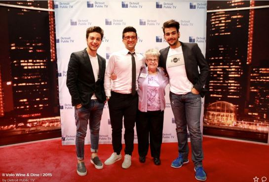 Meet and greet with marie il volo flight crew share the love find your seat there are staff to help also if you have a walker or etc a staff person will be there to gently assist m4hsunfo