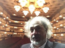 Diego Basso At the Kennedy Center venue for the Il Volo Concert North America 2016 tour