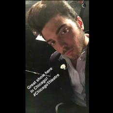 Gian Snapchat Gianluca - Chicargo IL concert 2/26/16 North America 2016 tour