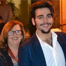 Ignazio and mom, Caterina