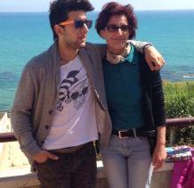 Piero and mom, Eleonora
