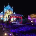Augusto Virgili Piazza di Sancto Croce Florence Concert 7/1/16