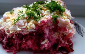 Herring & Beet Salad