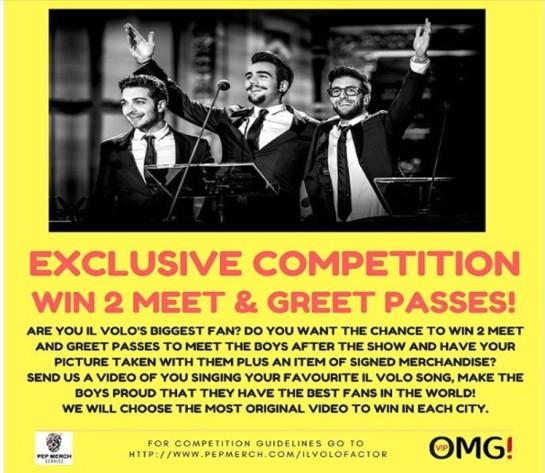 meet greet contest
