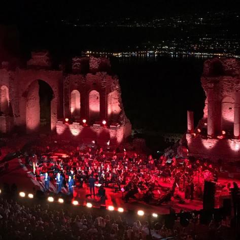taormina stage