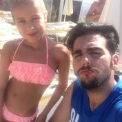 @letizia_bosini with Ignaio 7/16/17