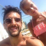 @letizia_bosini3 with Piero 7/16/17