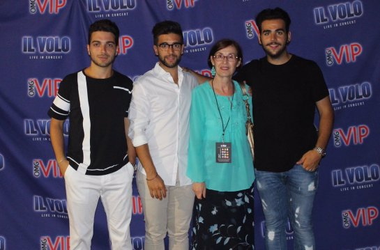 Marylus meet and greet in pula il volo flight crew share the love a few days ago the photos of the meet greet of the pula concert were published of course i was very curious to see what the camera had captured of all m4hsunfo