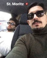 image Piero and Franz - on the way to St. Moritz 12/18/17