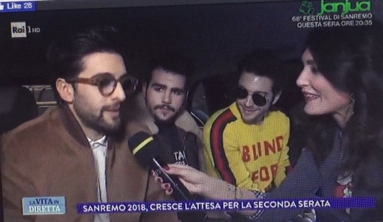 IL VOLO Interview Screen Shot