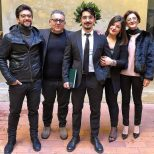 @barone_piero3 3/14/18 Barone family - Francesco graduate with Doctor's Degree