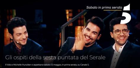 Canale 5 IL VOLO photo